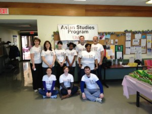 The Asian Food Pantry Team from the Asian Studies Program at UMBC.